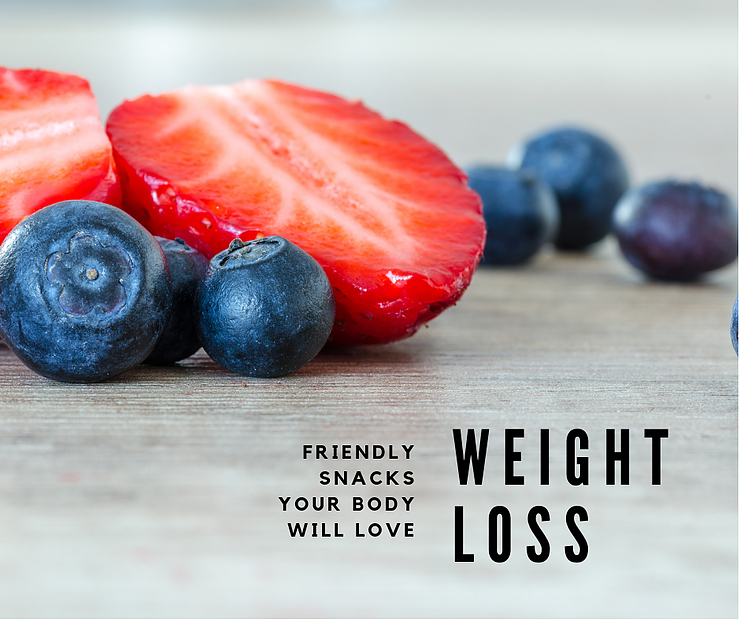 weight loss friendly snacks