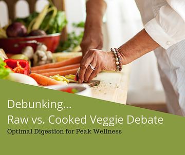 Debunking the Raw vs. Cooked Debate