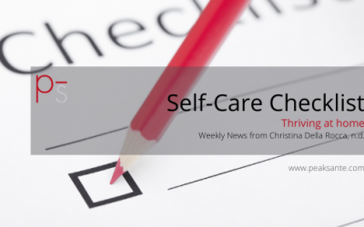 My Mini-Self-Care Checklist