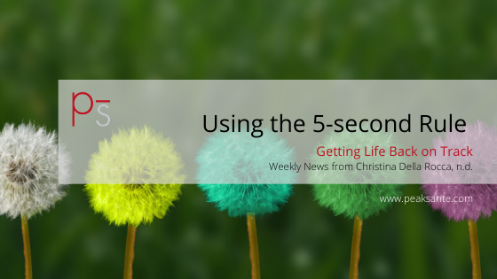 Use the 5-Second Rule to Take Action