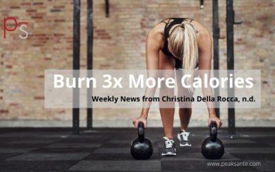 Burn 3x More Calories